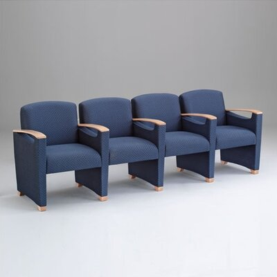 Lesro Somerset Four Seats with Center Arm