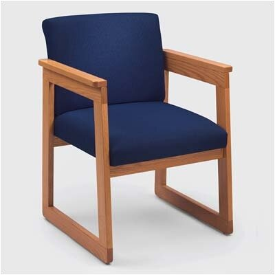 Lesro Classic Tapered Guest Arm Chair with Sled Base