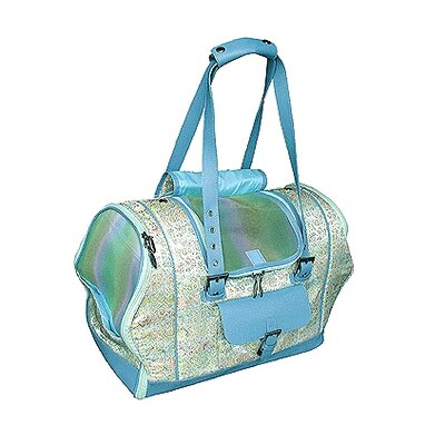 Precious Tote-o-Pet Carrier in Spring Green Tapestry