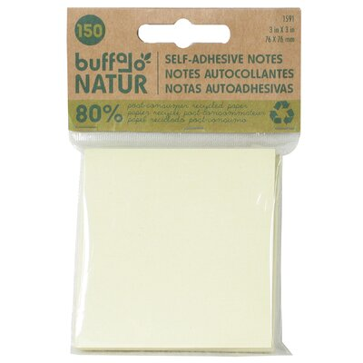 "Buffalo Originial Inc 3"" x 3"" Self Adhesive Note"