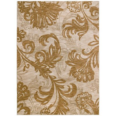 Home Nylon Bahama Beige Bloom Rug