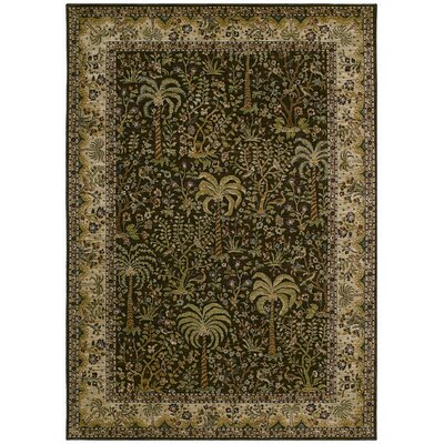 Tommy Bahama Rugs Home Nylon Brown Monaco Palms Rug