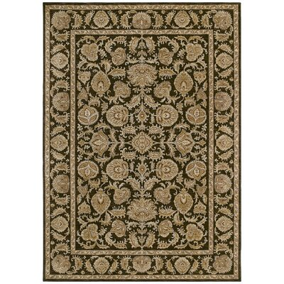 Tommy Bahama Rugs Home Nylon Dark Brown Tropical Isle Rug