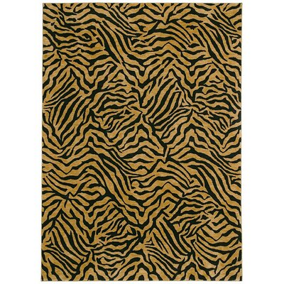 Tommy Bahama Rugs Home Nylon West Indies Safari Black Novelty Rug