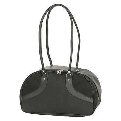 Petote Classic Roxy Pet Carrier in Black