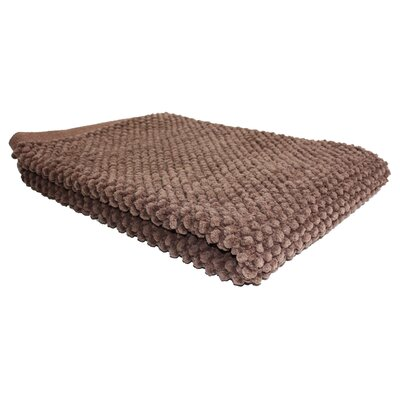 Chocolate Popcorn Bath Rug