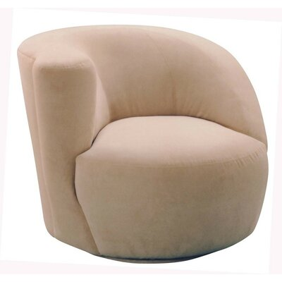 Scroll Corkscrew Left Swivel Chair