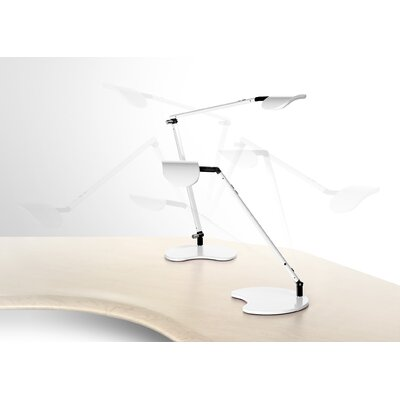 Workrite Ergonomics Ergonomics Astra Dual Arm LED Task Light Table Lamp