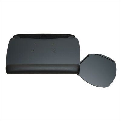 Workrite Ergonomics Advantage Keyboard Tray and Swivel Mouse Platform with Fixed Arm Mount