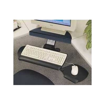 Workrite Ergonomics Advantage Keyboard Tray and Dual Mouse Mouse Platform System with Single Adjustable Arm and Mouse Support