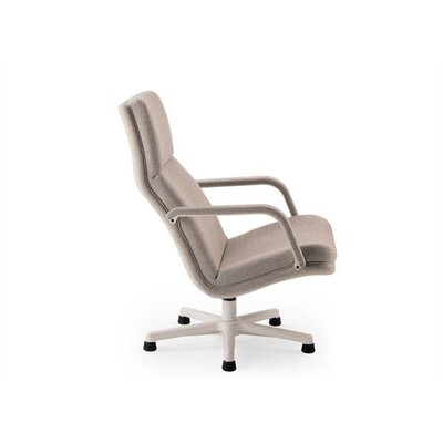 Artifort Leather Recliner / Lounge Chair by Geoffrey Harcourt