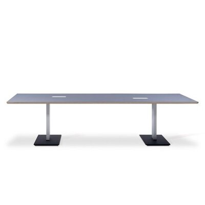 Artifort Bridge Rectangle Bipartite Table by Arnold Merckx