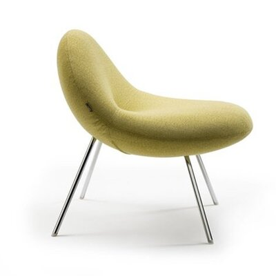 Artifort Leather Chair by Michiel Van Der Kley