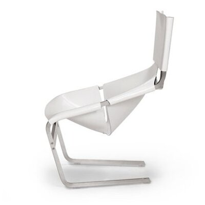 Artifort Leather Side Chair by Pierre Paulin