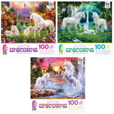 100 Piece Unicorn Puzzle