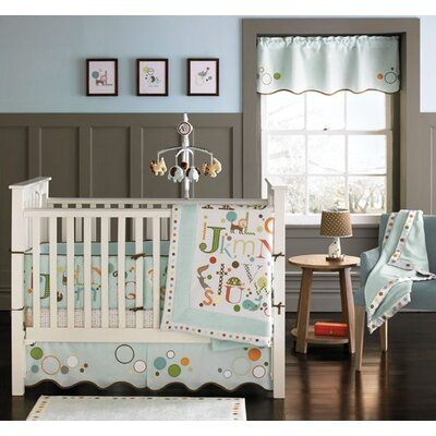 MiGi Alphabet Crib Bedding Collection