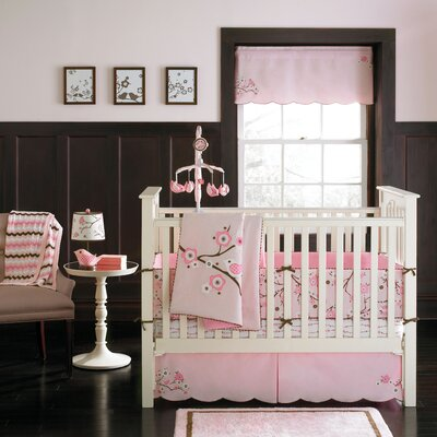 MiGi Pink Blossom Crib Bedding Collection