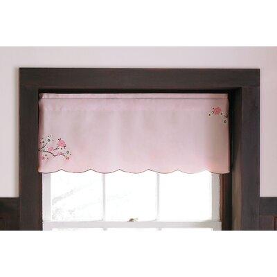 """MiGi Pink Blossom 54"""" Curtain Valance"""