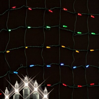 Queens of Christmas Minilights 150 Light Net Light