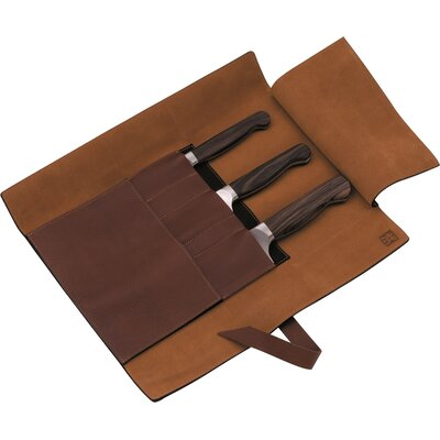 Zwilling JA Henckels Twin 1731 4 Piece Leather Roll Knife Set