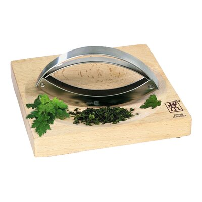 Zwilling JA Henckels Mincing Knife & Bamboo Board Set