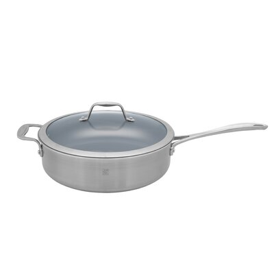 Zwilling JA Henckels Spirit Nonstick 5-qt. Saute Pan with Lid