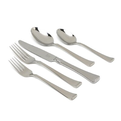 Twin Angelico 45 Piece Flatware Set