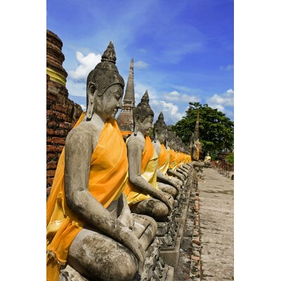 Maxwell Dickson Statue of the Buddha Photographic Print on Canvas