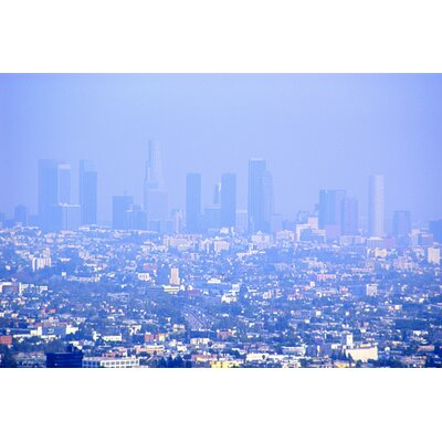 Maxwell Dickson Haze Over Downtown Los Angeles