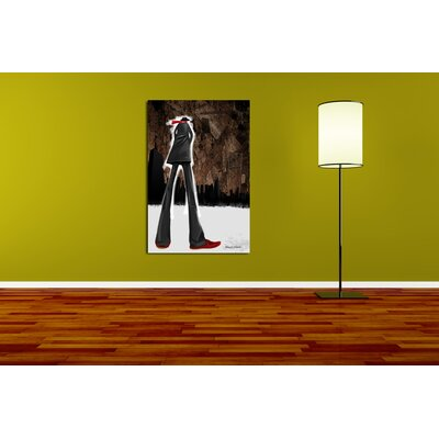 """Maxwell Dickson """"Guy Red"""" Painting Prints on Canvas"""