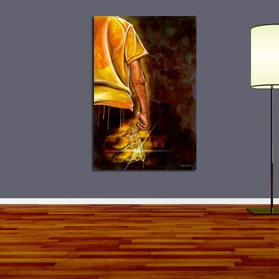 Maxwell Dickson Young King Graphic Art on Canvas