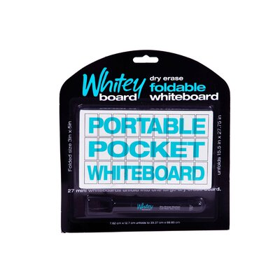 "Whitey Board 7.5"" x 7"" Whiteboard"