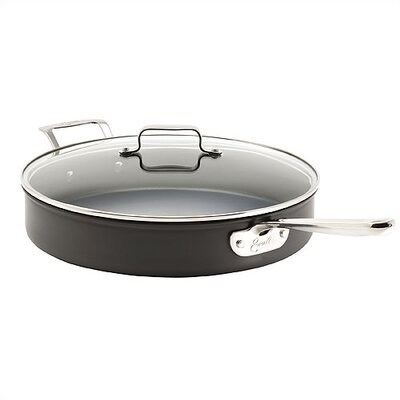 Emerilware by All Clad Hard-Anodized 5-qt. Sauté Pan with Lid