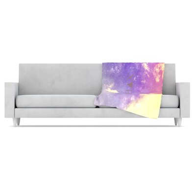 KESS InHouse Relax Fleece Throw Blanket