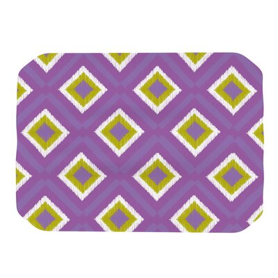 KESS InHouse Purple Splash Tile Placemat