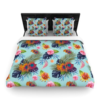 Tropical Floral Duvet Cover Collection