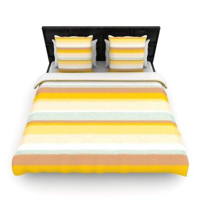 KESS InHouse Desert Stripes Duvet Cover Collection