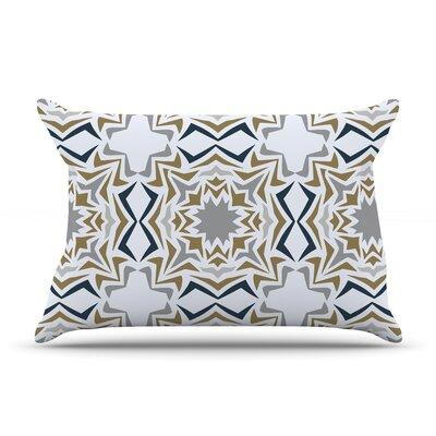 KESS InHouse Ice Stars Pillow Case