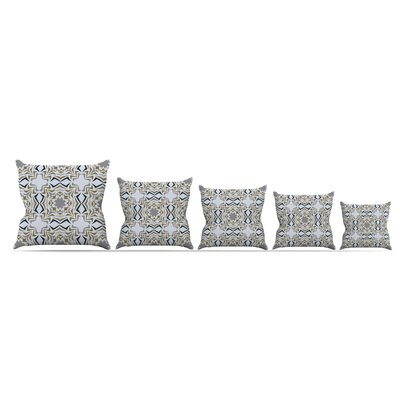 KESS InHouse Ice Stars Throw Pillow