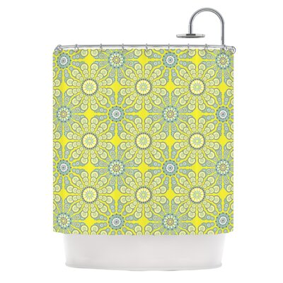 KESS InHouse Budtime Polyester Shower Curtain