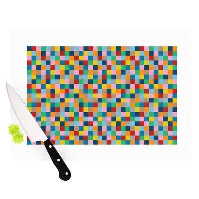 KESS InHouse Colour Blocks Cutting Board