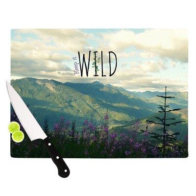 KESS InHouse Keep It Wild Cutting Board