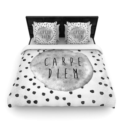 KESS InHouse Carpe Diem Duvet Cover Collection