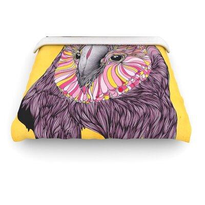 """KESS InHouse """"Lovely Owl"""" Woven Comforter Duvet Cover"""