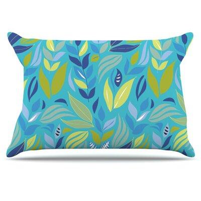 KESS InHouse Underwater Bouquet Pillowcase