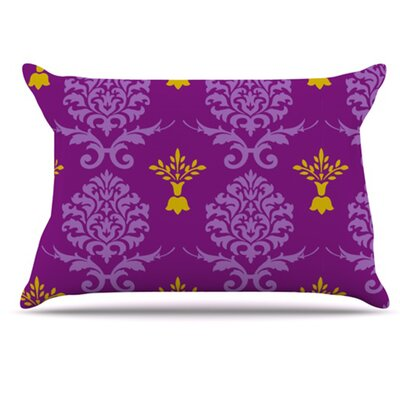 KESS InHouse Crowns Pillowcase