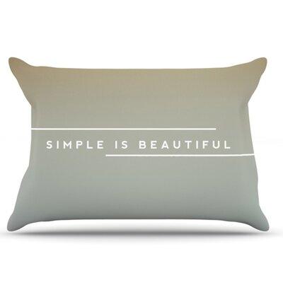 KESS InHouse Simple Beautiful Pillowcase
