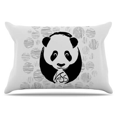 KESS InHouse Panda Pillowcase