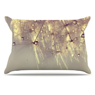 KESS InHouse Sparkles of Gold Pillowcase