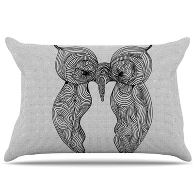 KESS InHouse Owl Pillowcase